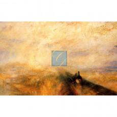 윌리엄 터너 명화그림 - 비와 증기와 속도(Rain, Steam and Speed)(캔버스화)
