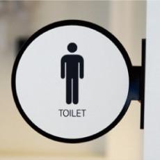 화장실픽토그램 Underground / 언더그라운드 / 돌출형 화장실 표지판
