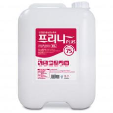 천연알코올 프리나 플러스 20L 주정알코올75%