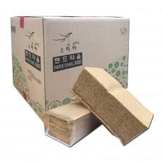 1겹 갈색지 핸드타올/페이퍼타올 4,500매/박스 325