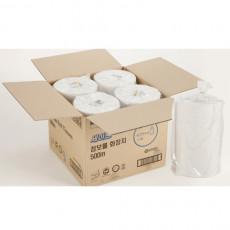 [유한킴벌리]세이브 점보롤 화장지 500m1겹16롤/박스