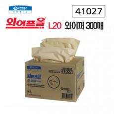 와이프올 L20 와이퍼 300매[4겹]
