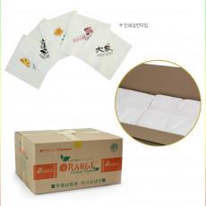 인쇄칵테일 흰색 냅킨  3박스(7000매,8000매,10000매)